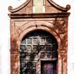 Kirchentür auf Lanzarote