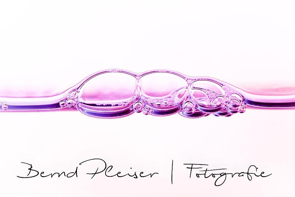 Spülmittelblasen