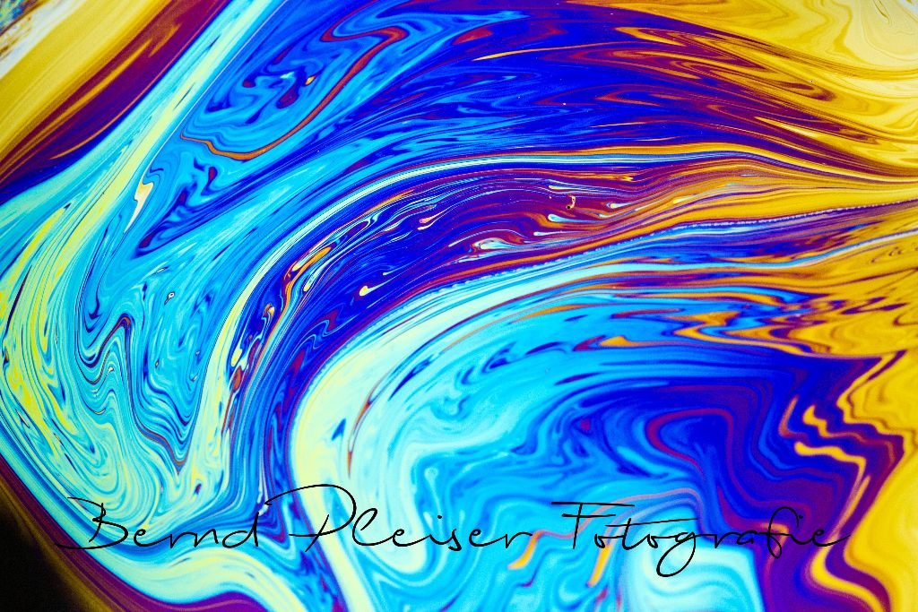 Farben einer Seifenblase
